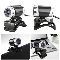 HD Webcam 12MP USB PC Camera with Microphone Clip-on for Sky