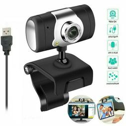 HD Webcam 480P USB Computer Camera Built-in Microphone for V