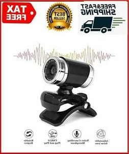 HD Webcam Camera with Microphone USB for PC Mac Windows XP/7