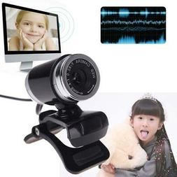 HD WebCam Web Camera Video With Mic 360°USB 50MP for MSN Sk
