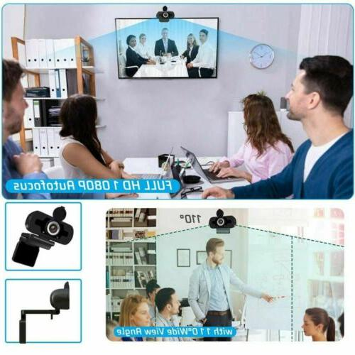 1080P Full Webcam PC & Laptop Web Camera with