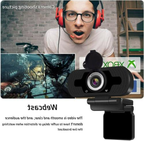 1080P Webcam & Web Camera with