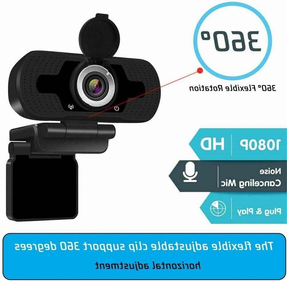 1080P Webcam for PC & with