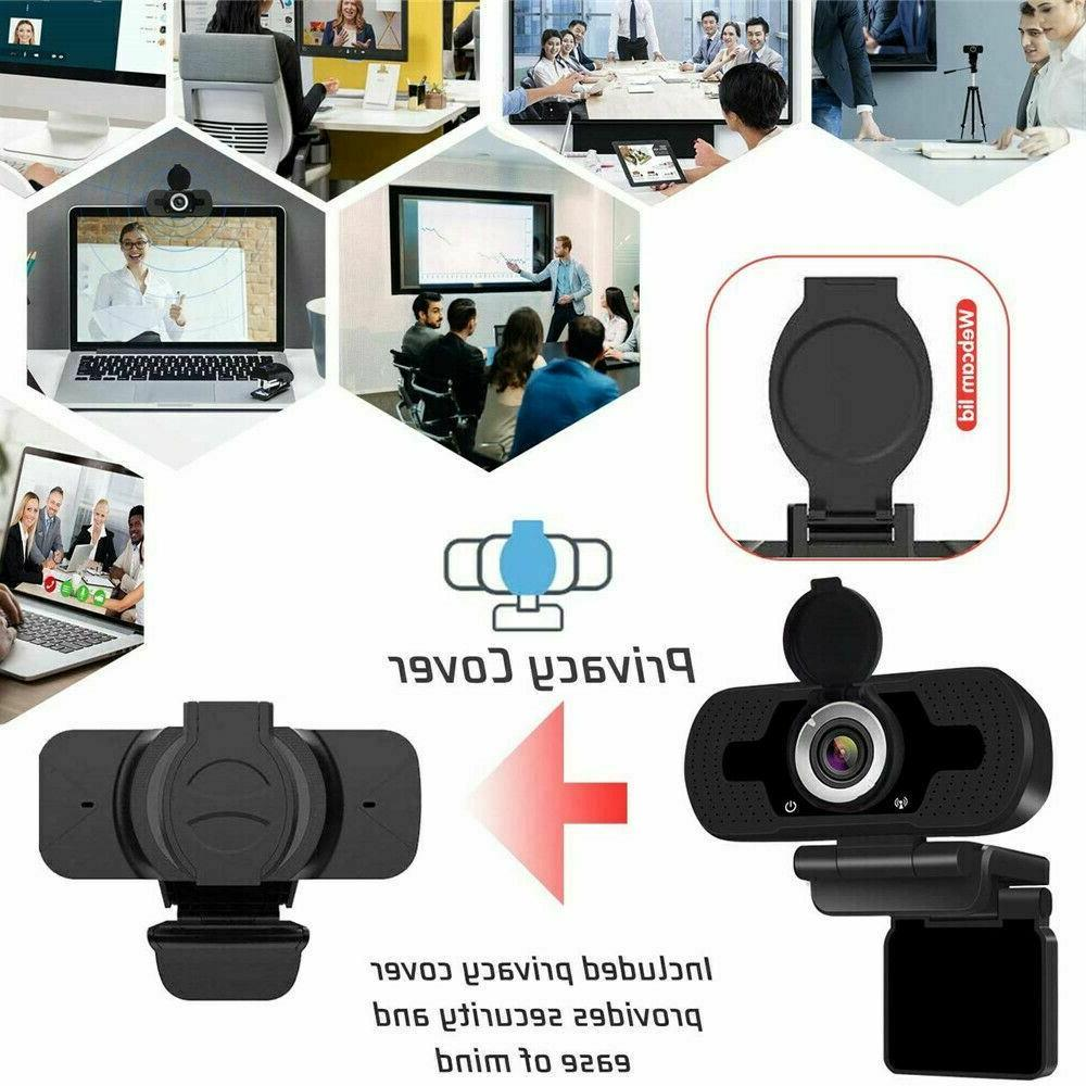 1080P HD USB Webcam for PC & Laptop with