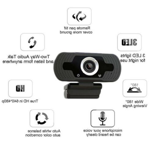 1080P Full USB Webcam For Laptop Camera Microphone /