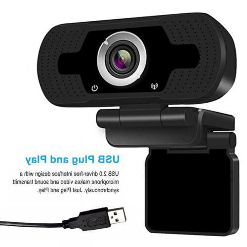 Full HD USB Webcam & Laptop Web Camera