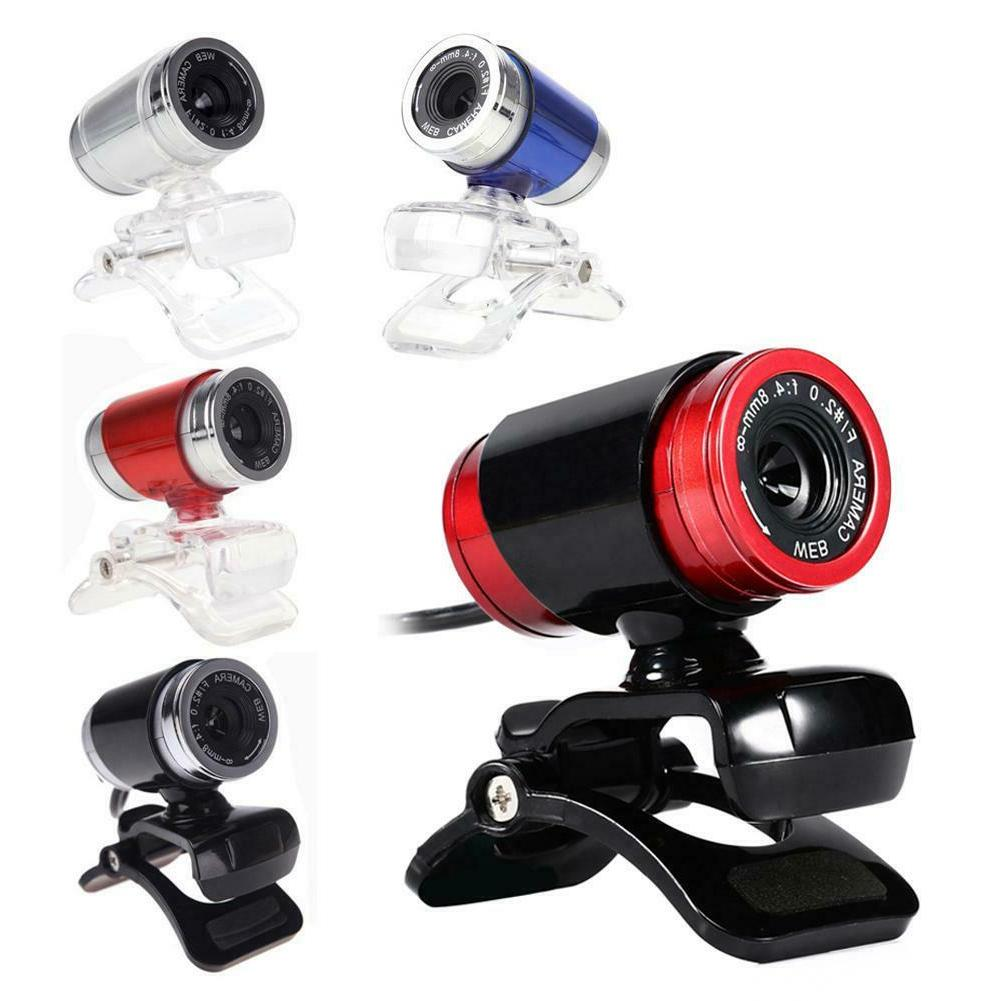 1080P USB Camera Cam 360° Clip-on PC Computer Laptop