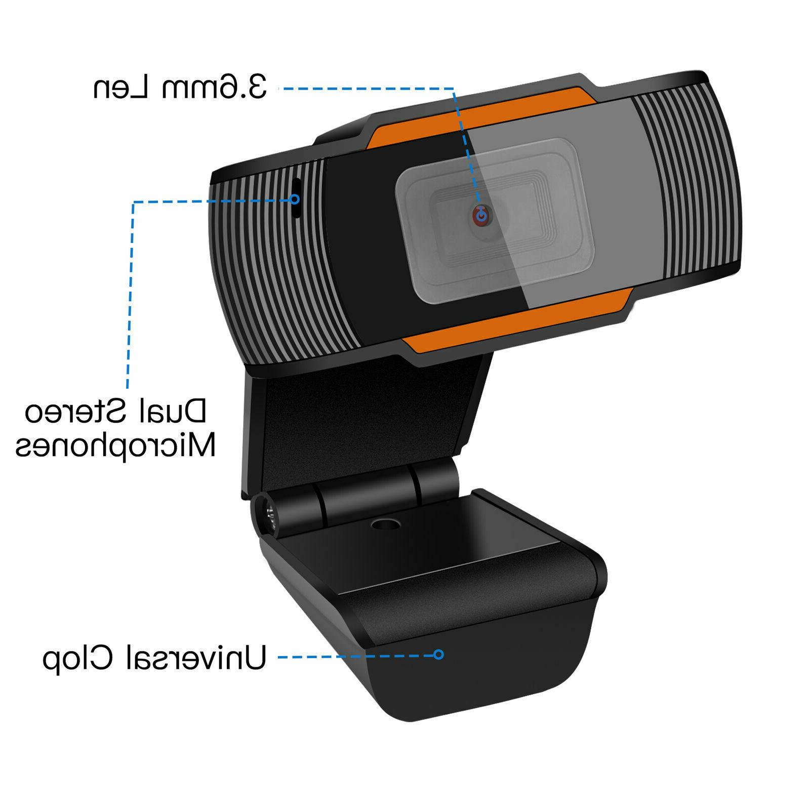 1080P Microphone Camera For Desktop