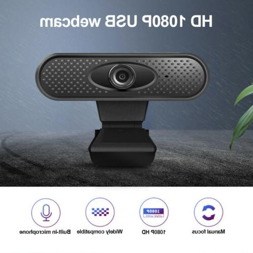 HD With Microphone Camera For PC Laptop Video