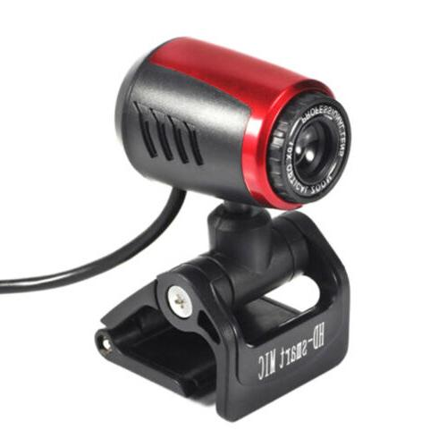 1080P12Mp Webcam Cam Camera Usb2.0 Mic For Computer Desk