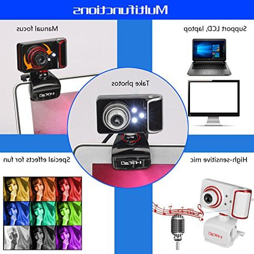 HXSJ Skype Wide with USB and Play Cam Manual Focus