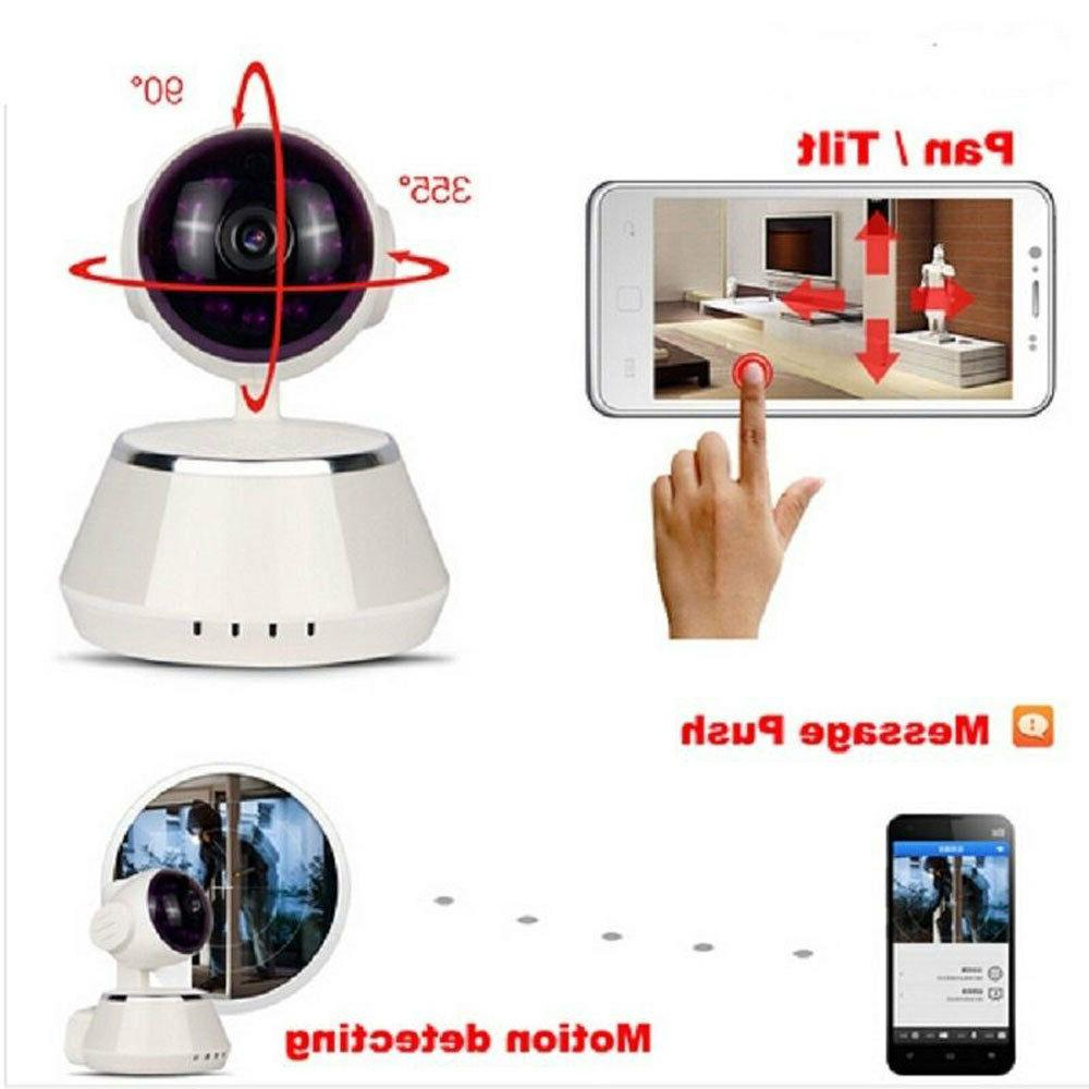 360 WIFI IP Baby Monitor 720P Security Network CCTV Webcam