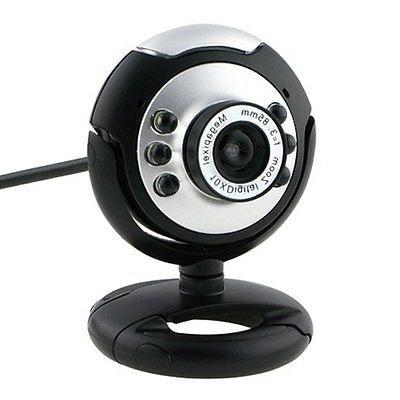 HD LED USB Webcam with Mic & Vision Laptop