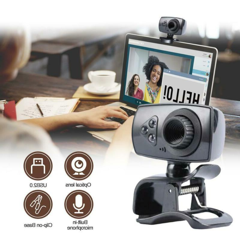 8.0 Megapixels Usb 2.0 High-Definition Clip-On Web Camera Wi
