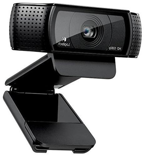 Logitech HD C920, 1080p Widescreen Video Calling and