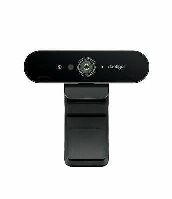 brio ultra hd webcam for video conferencing