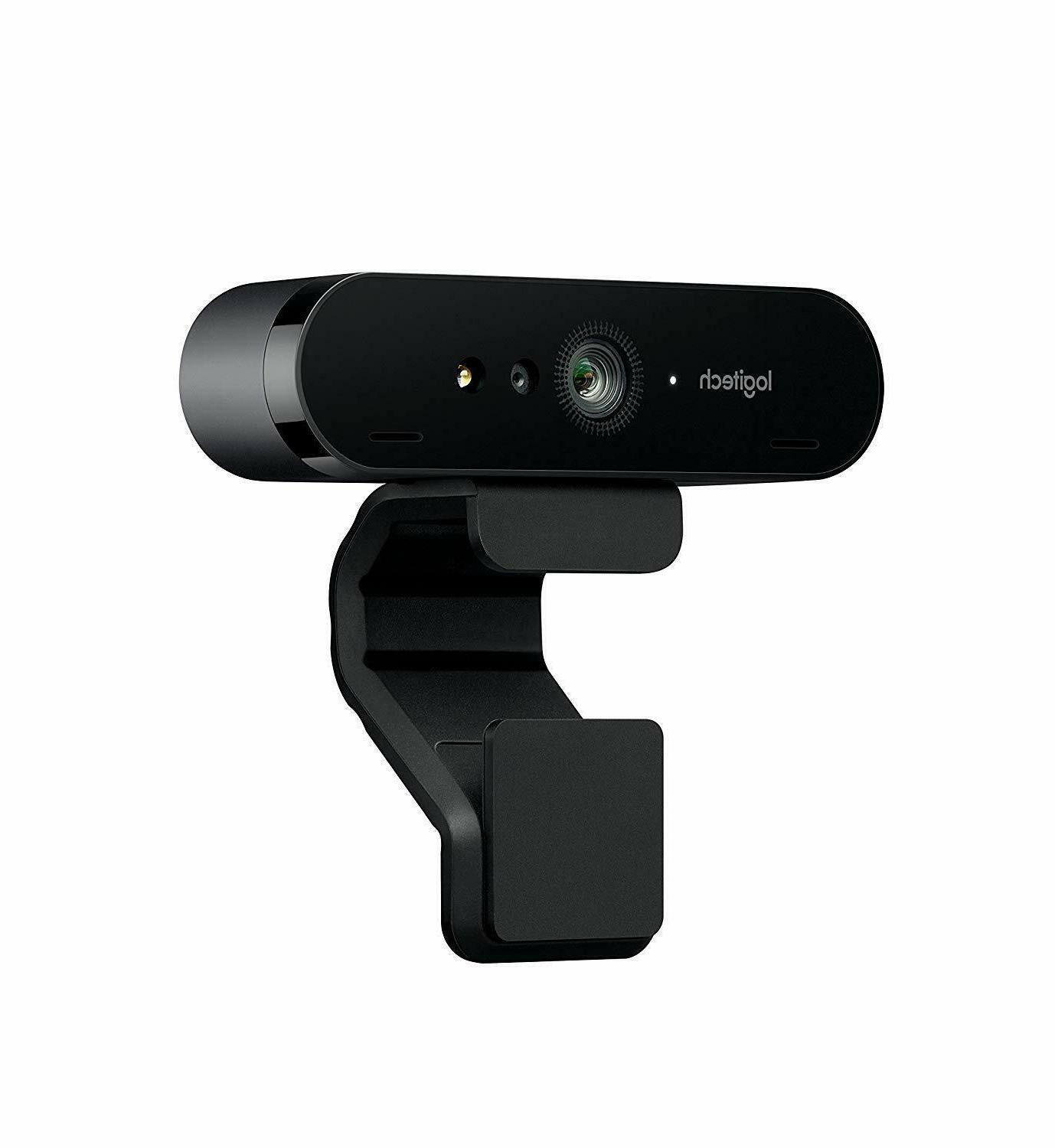 Logitech BRIO Webcam for and 4K/1080p