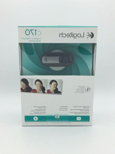 c170 webcam brand new sealed free shipping
