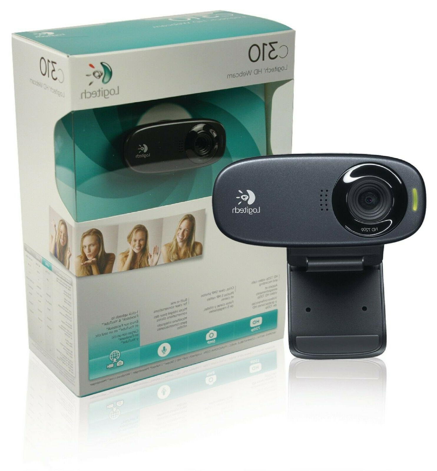 c310 webcam hd 720p 5 mp