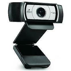 LOGITECH Webcam C930e Full HD 30 fps Microfono USB 2.0 Nero
