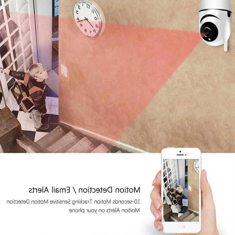 Camera Wireless Wifi IP Home Security Remote Indoor Safe