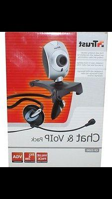 Trust Chat & Voip Pack Webcam CP-2100