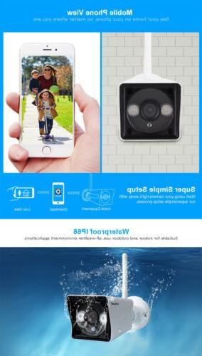 Sricam FHD 1080P Camera Webcam Supports Onvif Mobile View