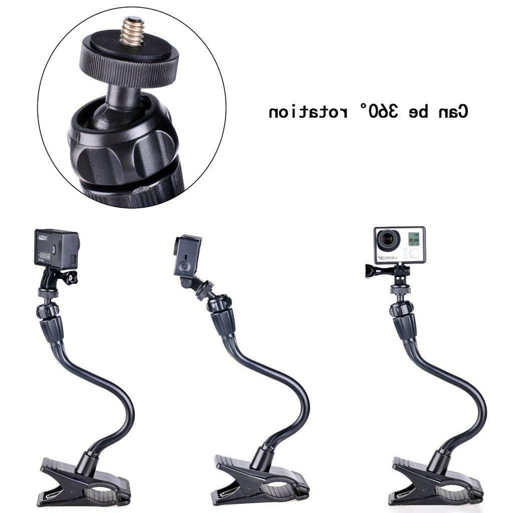Smatree Flexible Camera Mount Fusion,7,6,5,4,3+/Webcam C920