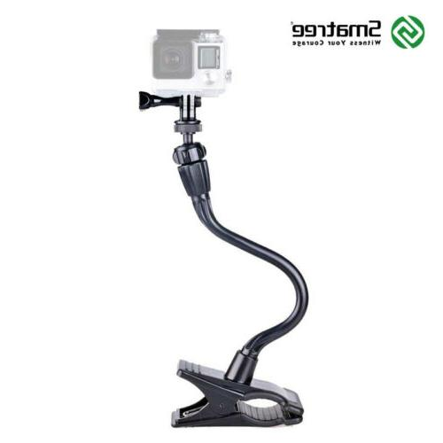 flexible camera clamp mount for gopro hero