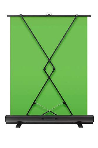 Corsair Screen - Collapsible chroma panel for with chroma-green fabric, aluminum breakdown