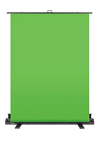 green collapsible chroma key panel