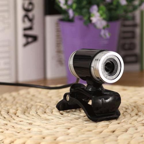 Webcam Camera with Clip-on for