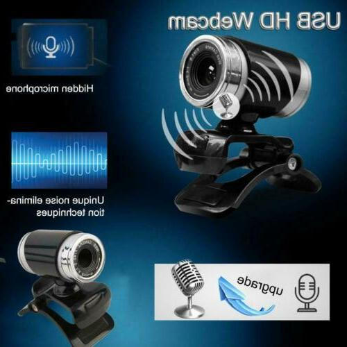 HD Webcam with Clip-on for Laptops