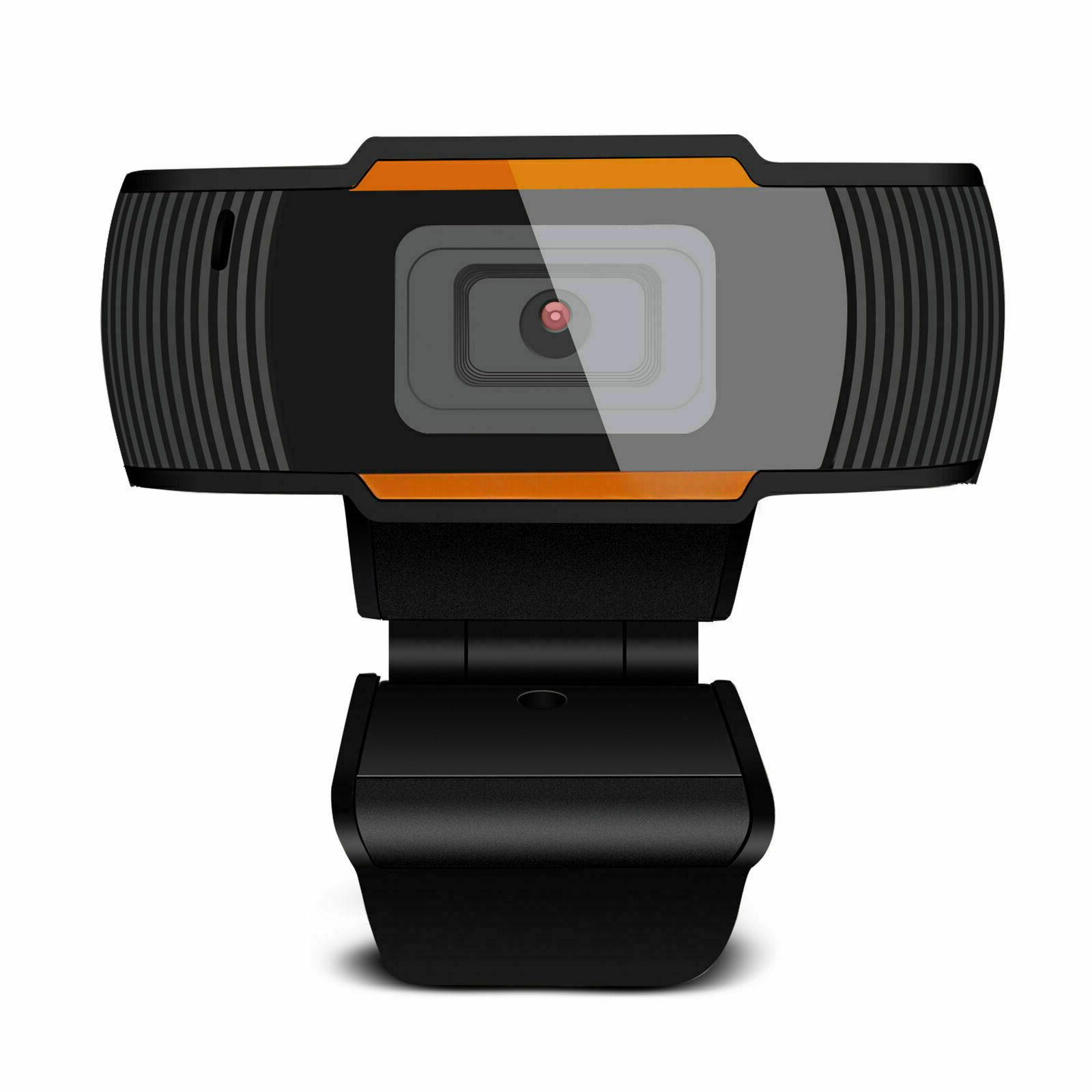 HD Webcam with Microphone USB Computer for