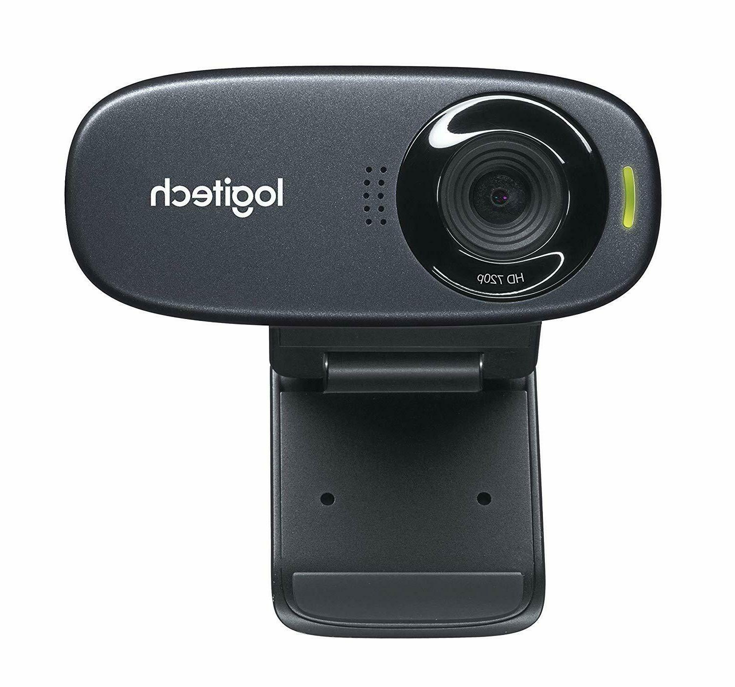 Logitech Webcam 720p MP Built-In Microphone