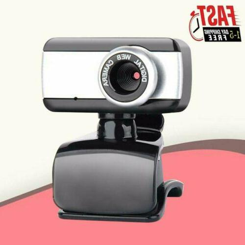 HD Webcam Clip With USB Cam