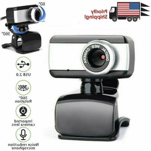 hd camera webcam clip with microphone usb