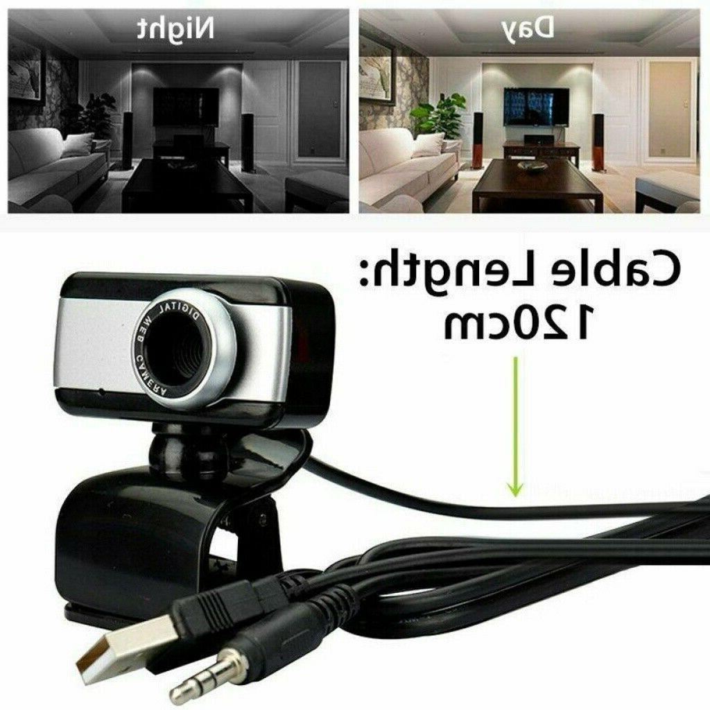HD With Microphone For Video Cam US