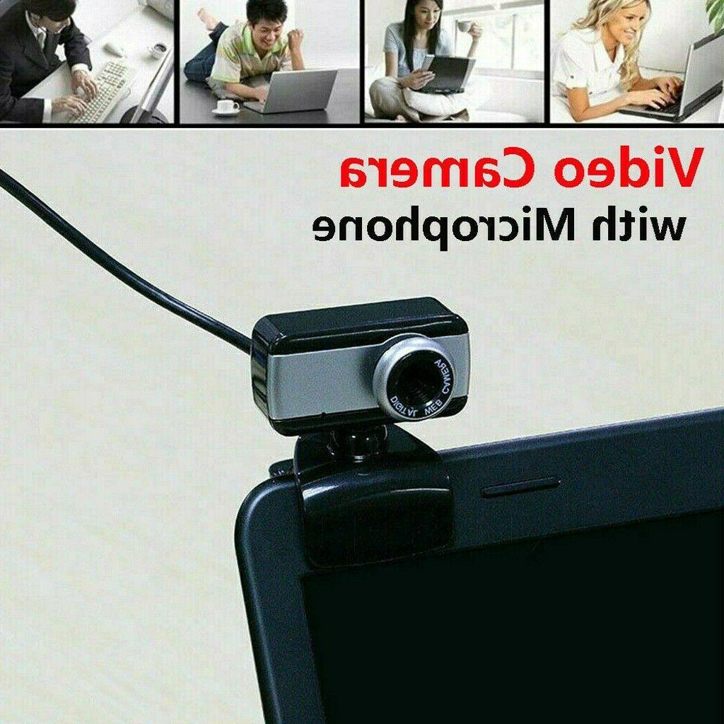HD Clip With Microphone 2.0 For PC Laptop Video Cam US