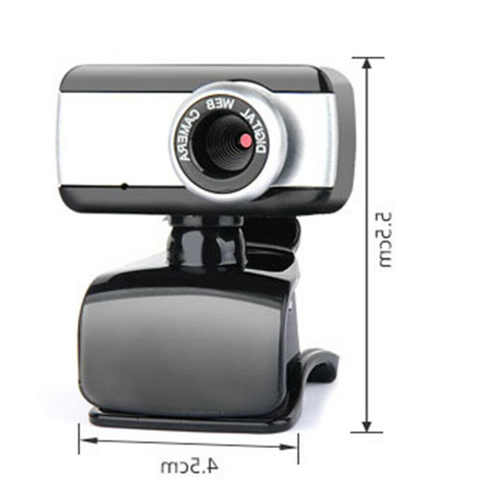 HD Clip With Microphone For PC Laptop Video US