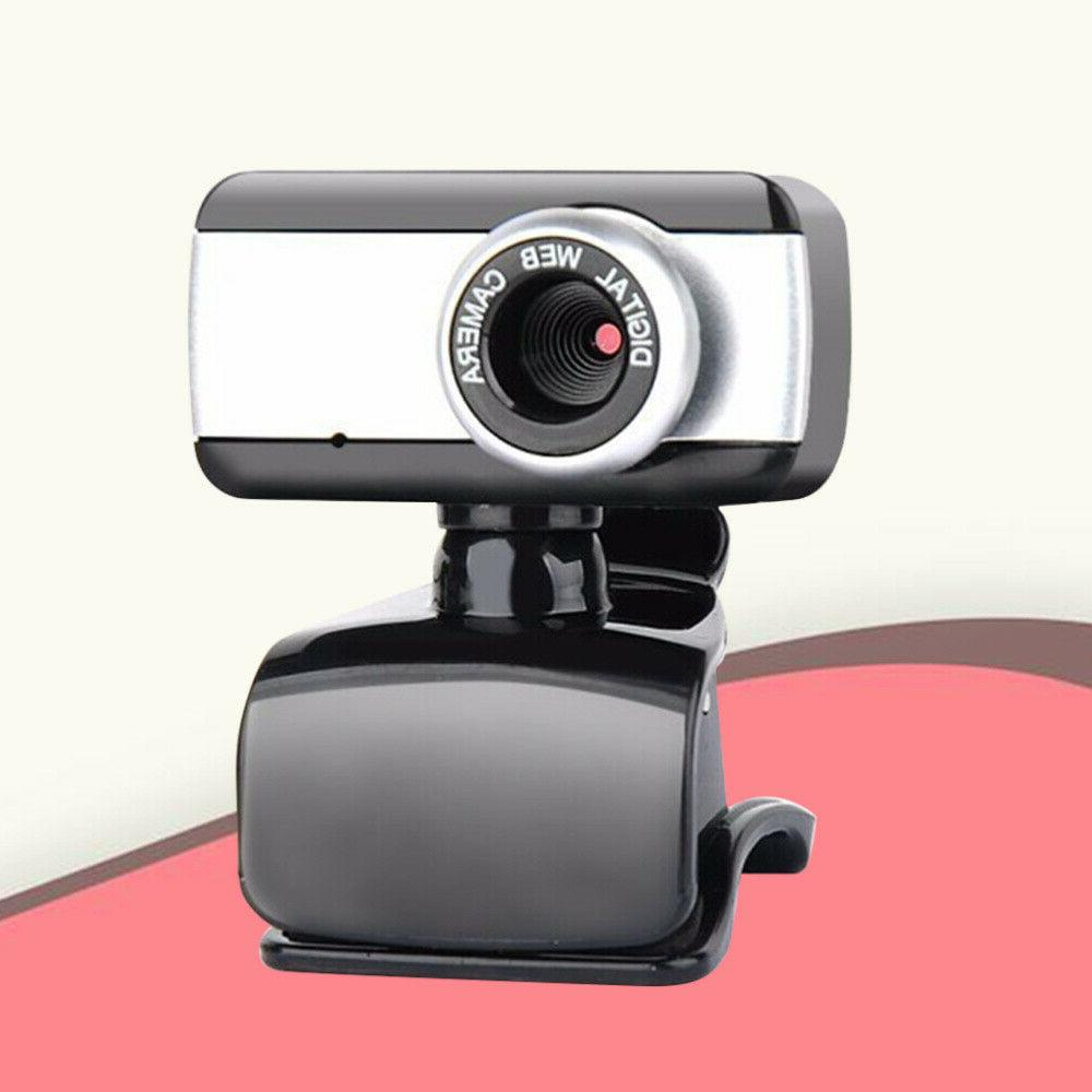 HD Camera Webcam Clip With For PC Video Cam US