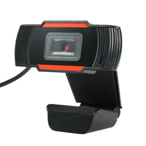 HD Webcam 2.0 Camera Video W/Mic Video Calling For PC Computer Laptop