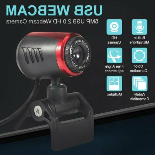 Web Camera With Microphone 1080p Professional Full HD Comput