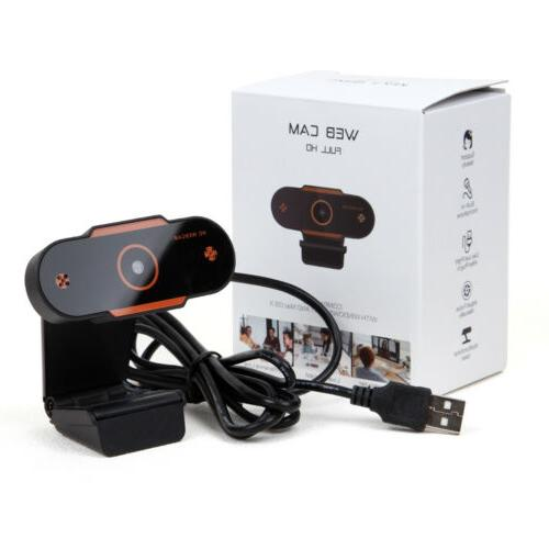 1080P USB Live Computer Camera Double Microphone for PC