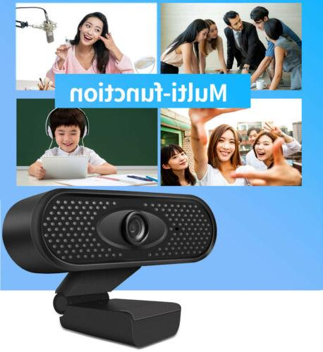 HD 1080P Webcam With Microphone PC Video Call