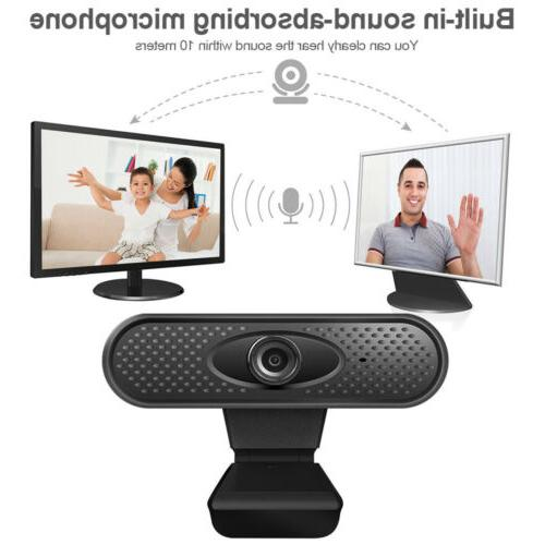 HD 1080P With Microphone Camera For PC Laptop Live