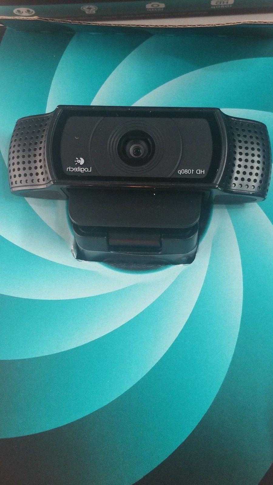 New Logitech Webcam C920 Calling & Recording