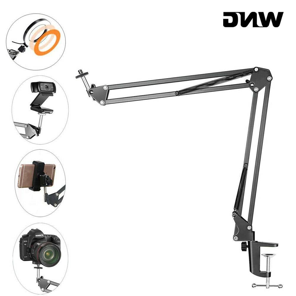 overhead tripod mount for camera webcam ring