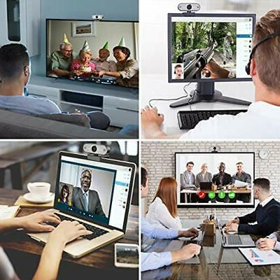 """Pro Stream Webcam 1080P HD Video Focus For Streaming, Game """""""