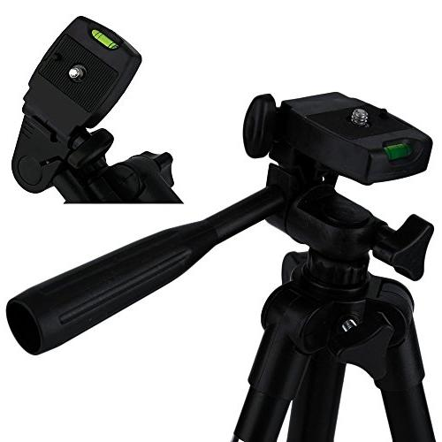 """Professional Camera Tripod Mount Holder Stand for Webcam C930 with Clip -42""""/Black"""